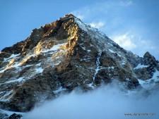 K2 at sunset July 20 2014