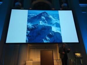Reinhold Mennser talking about K2