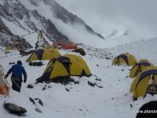 K2 Base Camp Avalanche