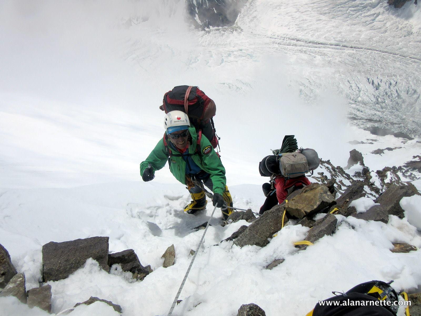 Kami on K2 in 2014