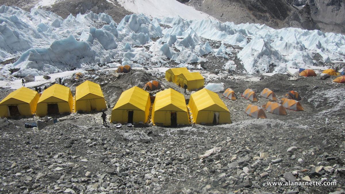 Altitude Junkies Base Camp