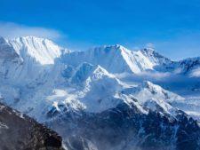Tenzing and Hillary Peak from Gokyo Ri.