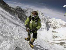 Alex Txikon on Lhotse Face