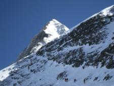Everest SE Ridge from Geneva SpurEverest SE Ridge from Geneva Spur