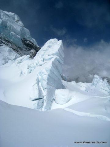 Khumbu Icefall Serac in 2011