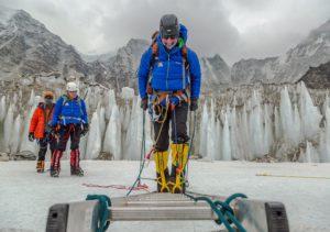 Training for Icefall courtesy of Ben Jones AAI