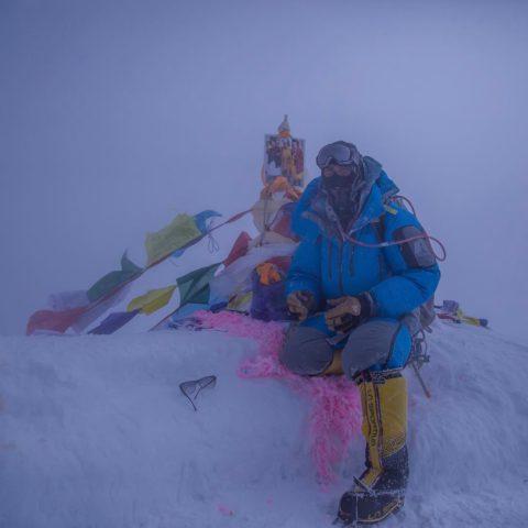 Ben Jones, leader Alpine Ascents on Everest 2017 summit