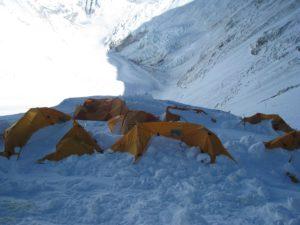 Camp 3 Lhotse Face 2011