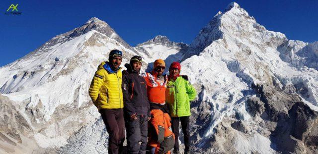 Pumori Summit Team