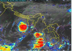 Cyclone Yaas May 26