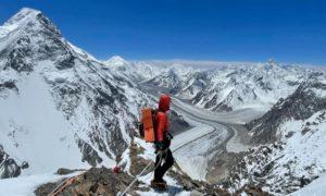 View from K2 slopes. Courtesy of Jon Gupta